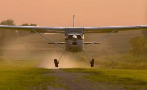 Cessna 180D Takeoff