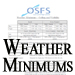 Weather Minimums