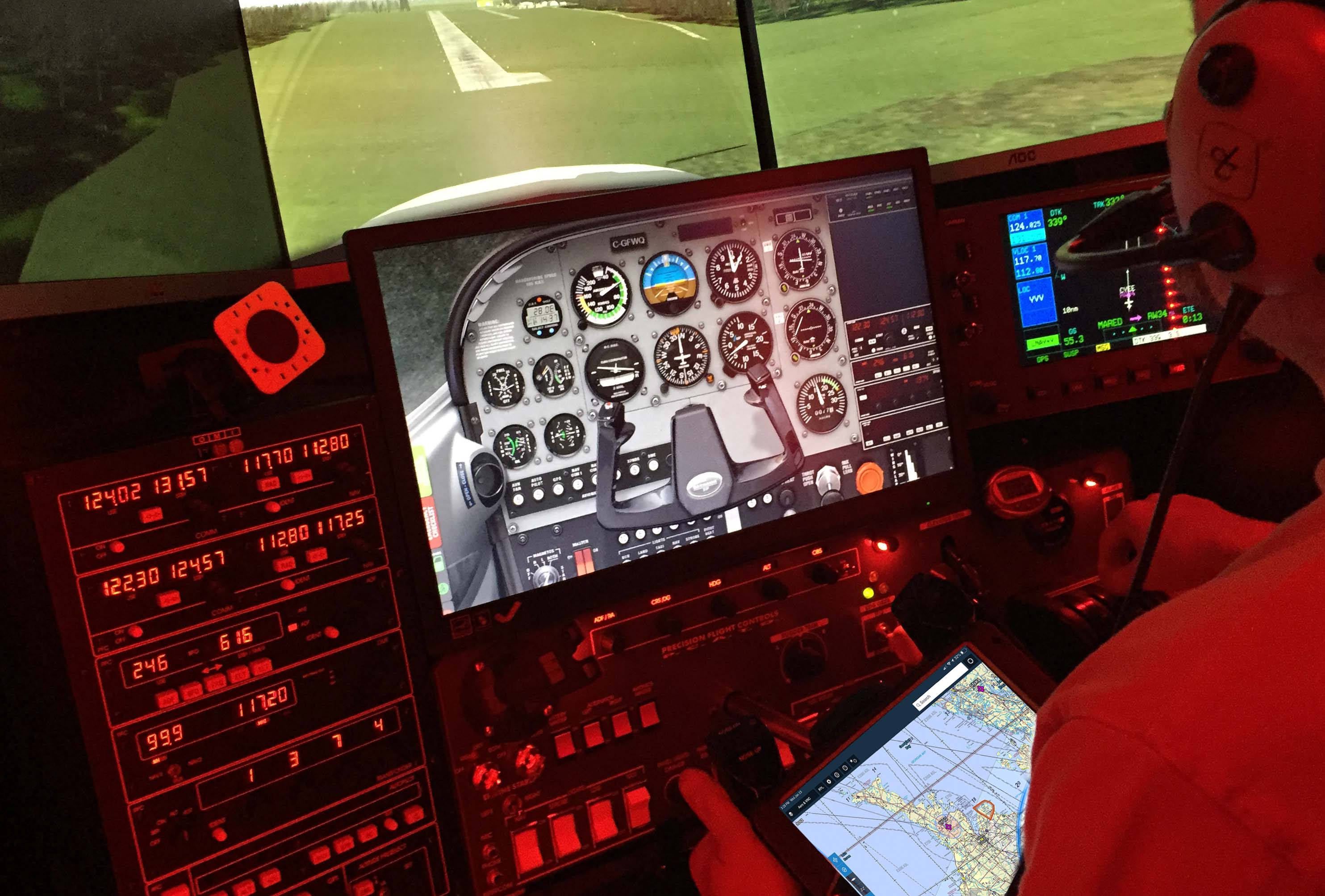 00f00bcd8dd Time to grab a coffee and a briefing room for a one on one – 90 minute  ground briefing with your Flight Instructor. There you are supplied with an  iPad ...